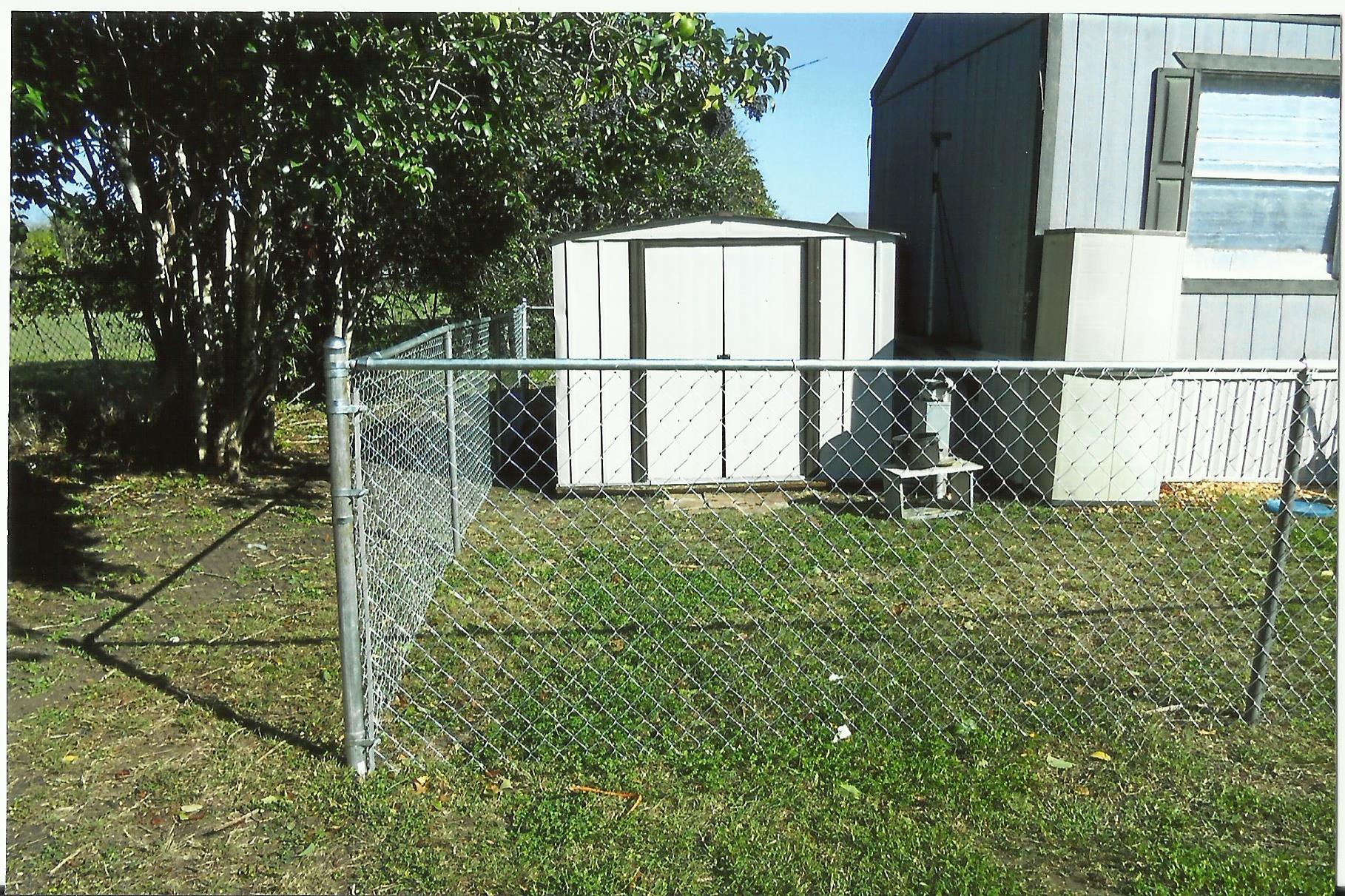 Service Project For New Braunfels Mobile Home Resident New