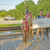 Donation to Boy Scout Troop 119